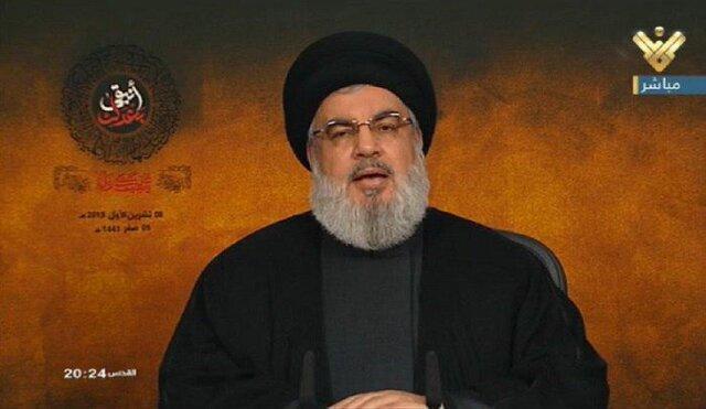 سید حسن نصرالله: آمریکا قابل اعتماد نیست