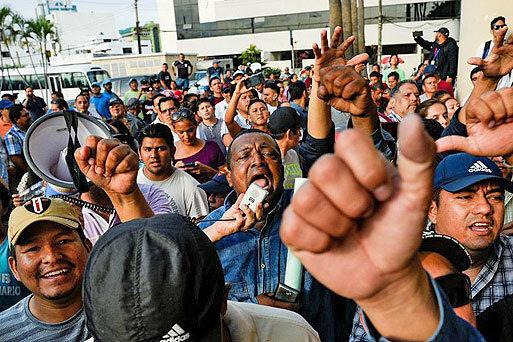 ناآرامی در اکوادور فراوری روزانه 900 هزار بشکه نفت را متوقف کرد