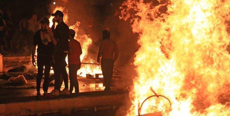 حکم تیر برای معترضان عراقی که خشونت می ورزند و تخریب می کنند